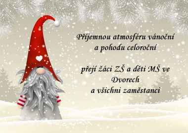 Vánoční přání